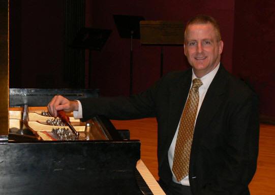 Rob Mitchell, Registered Piano Technician (RPT)
